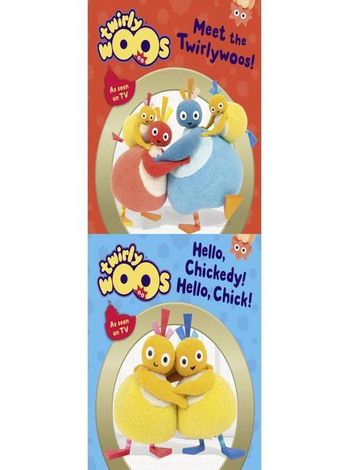 Meet the Twirlywoos & Hello Chickedy, Hello Chick (Twirlywoos)