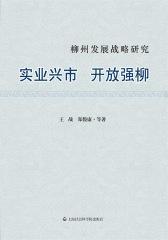 柳州发展战略研究——实业兴市 开放强柳
