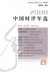 2008中国时评年选