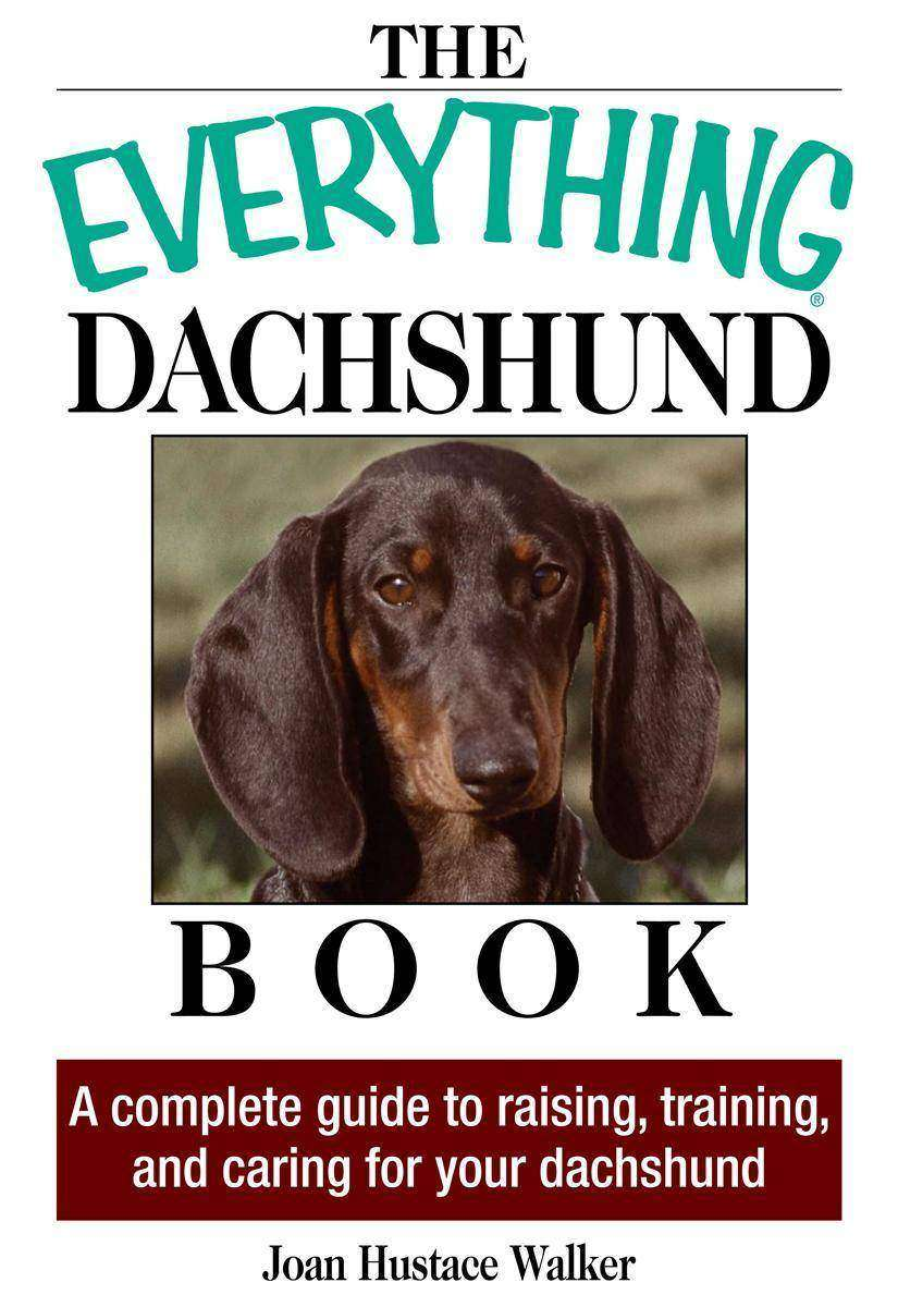 The Everything Daschund Book:A Complete Guide To Raising, Training, And Caring F