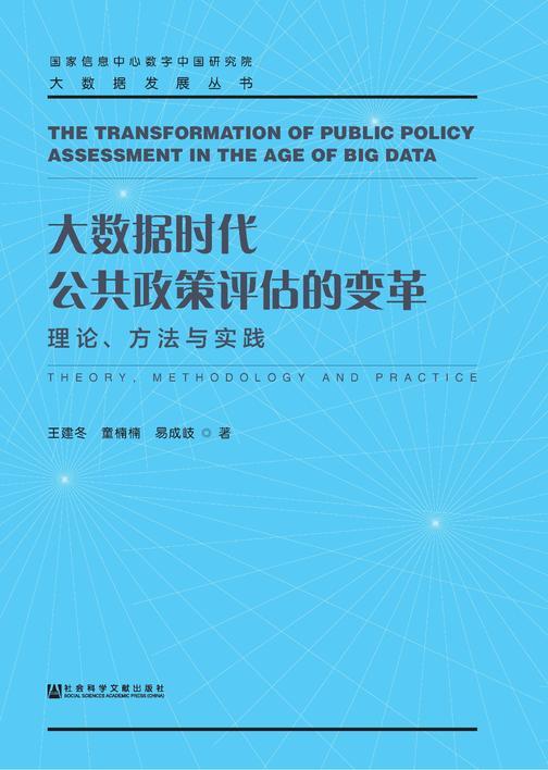 大数据时代公共政策评估的变革:理论、方法与实践(大数据发展丛书)