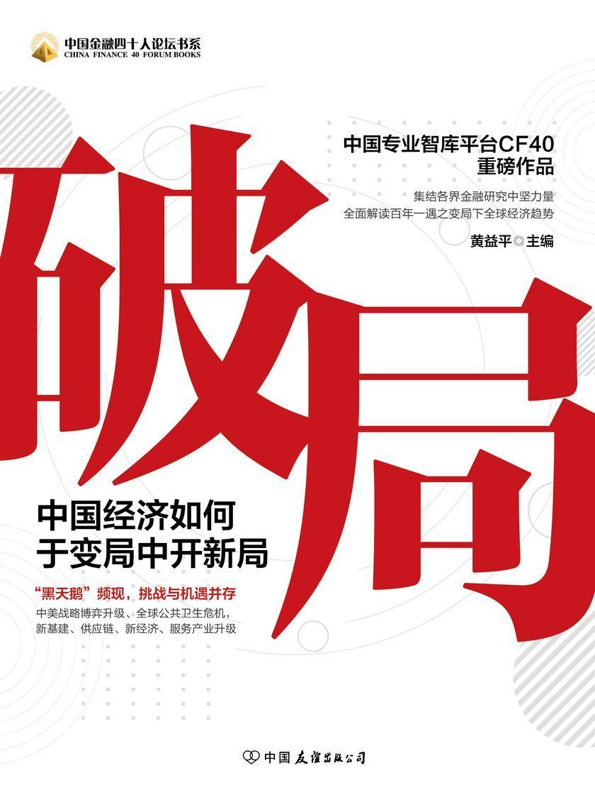 破局 : 中国经济如何于变局中开新局
