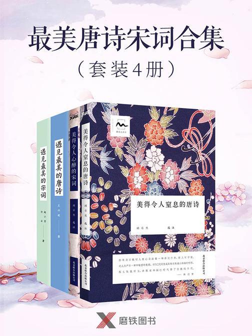 最美唐诗宋词合集(套装4册)