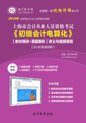 圣才学习网·2014年上海市会计从业资格考试《初级会计电算化》【教材精讲+真题解析】讲义与视频课程【8小时高清视频】(仅适用PC阅读)