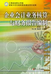 企业会计业务核算与财务报告编制
