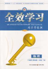 全效学习系列丛书:物理·上海科技广东教育版·九年级(下册)(仅适用PC阅读)