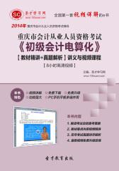 圣才学习网·2014年重庆市会计从业资格考试《初级会计电算化》【教材精讲+真题解析】讲义与视频课程【8小时高清视频】(仅适用PC阅读)