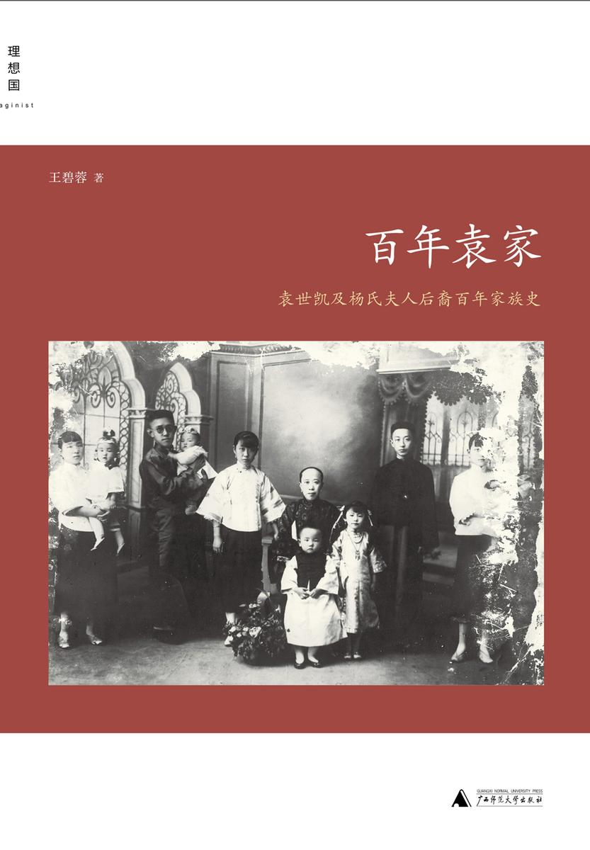 百年袁家:袁世凯及杨氏夫人后裔百年家族史