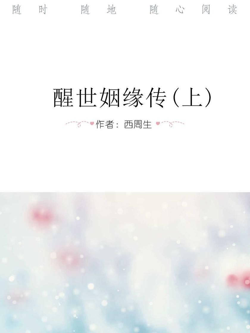 醒世姻缘传(上)