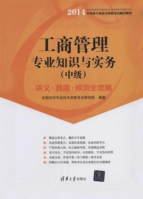 工商管理专业知识与实务(中级)讲义·真题·预测全攻略
