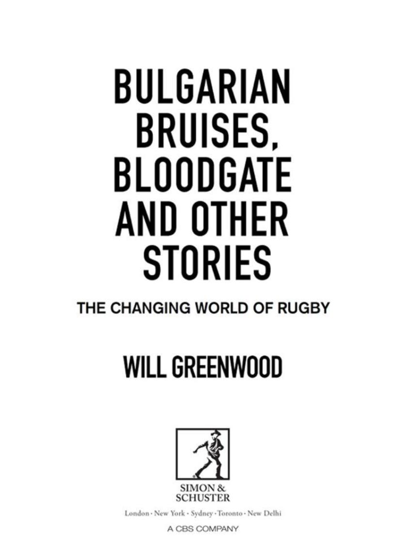 Bulgarian Bruises, Bloodgate and Other Stories