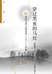 穿过黑夜的马灯——21世纪文学之星丛书2011年卷(试读本)