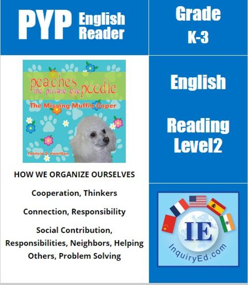 PYP: Reader-1- Animal Adventures Peaches the Private Eye Poodle: The Missing Muf