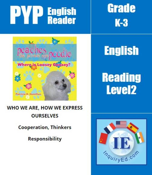 PYP: Reader-1- Animal Adventures Peaches The Private Eye Poodle: Where is Loosey