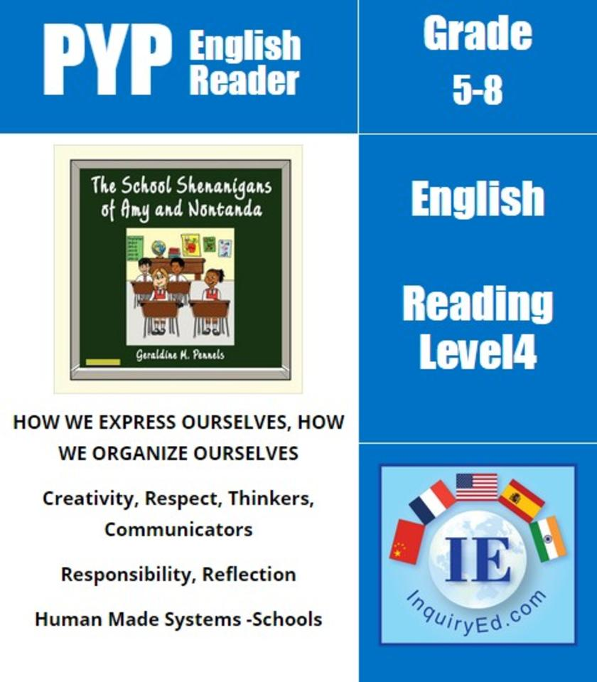 PYP: Reader-3- South African School Adventures The School Shenanigans of Amy and