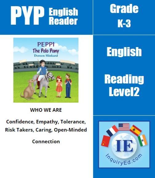 PYP: Reader-2- Horse Training & Confidence Peppi the Polo Pony