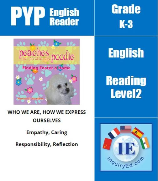 PYP: Reader-1- Animal Adventures Peaches the Private Eye Poodle