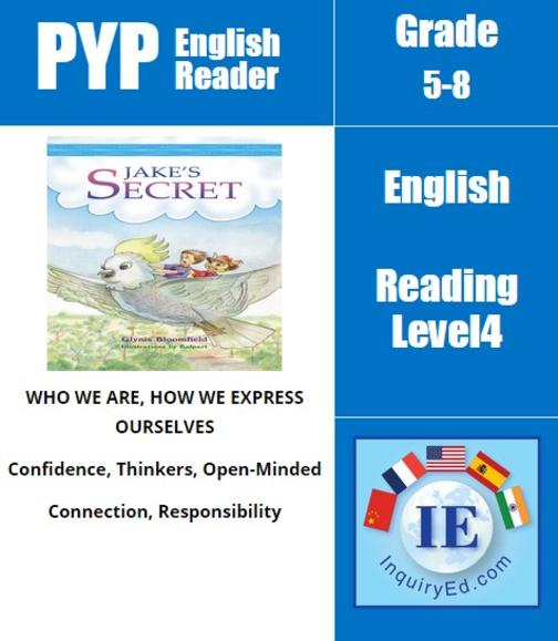 PYP: Reader-3- Imaginary Friend, Australian Adventure Jake's Secret