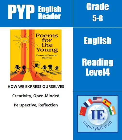 PYP: Reader-3-Poetry about Children Poems for the Young