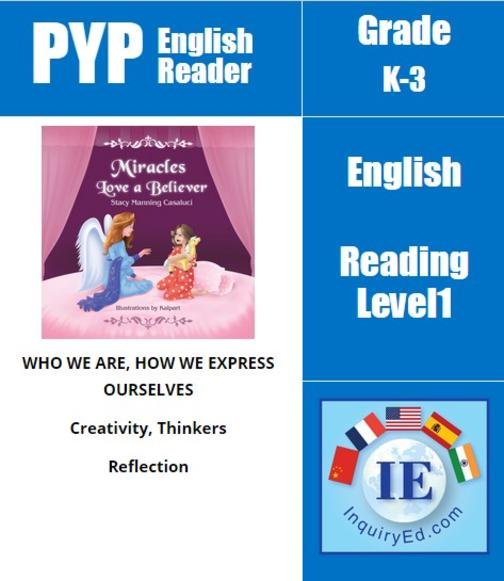 PYP: Reader-1- Dreams, Guardian Angel, Wishes Miracles Love A Believer