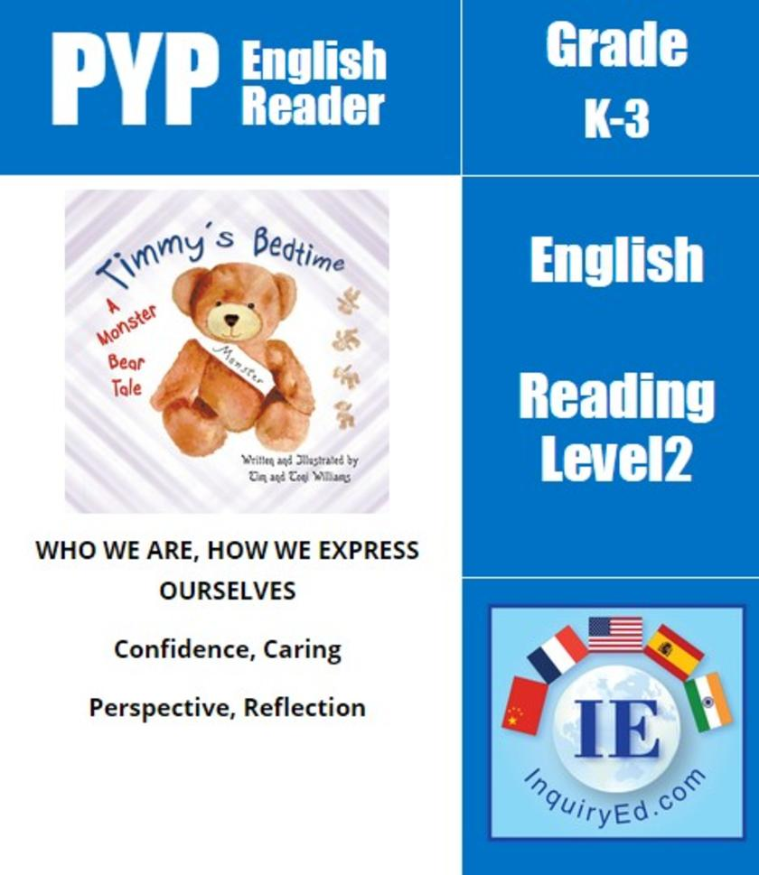 PYP: Reader-1- Routines, Fears & Self-Confidence Timmy's Bedtime