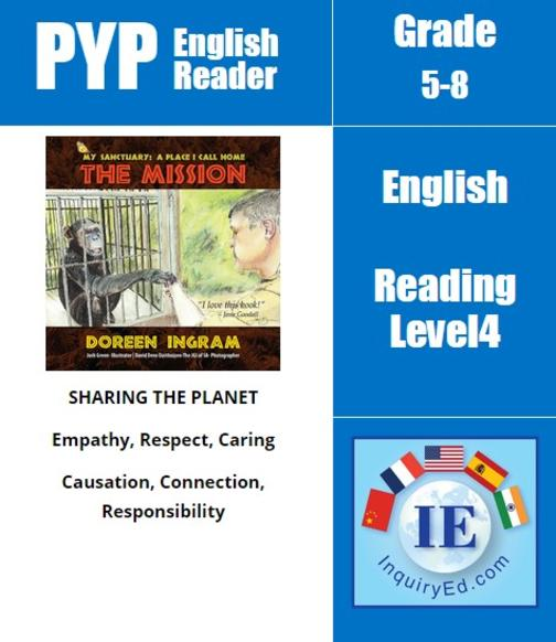 PYP: Reader-3- Endangered & Rescued Animals My Sanctuary, A Place I Call Home: T