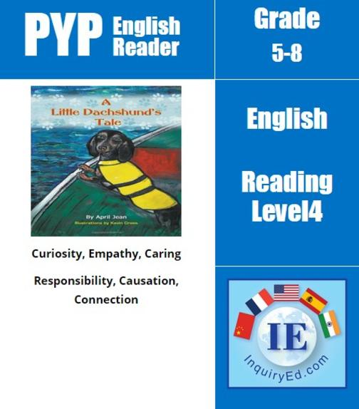 PYP: Reader- 3 - Pets A Little Dachshund's Tale