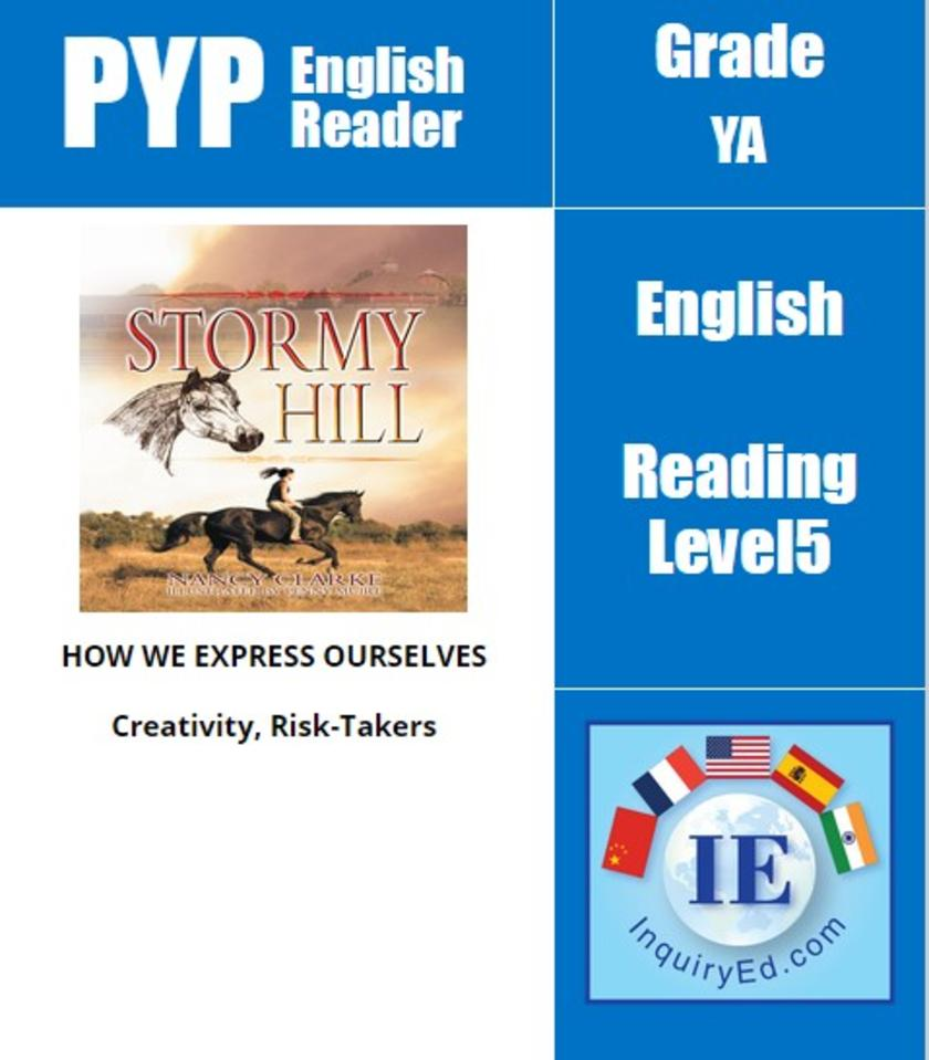 PYP: Reader-3- Horse Racing & Self-Confidence Stormy Hill
