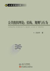 公共组织理论:结构、规则与行为