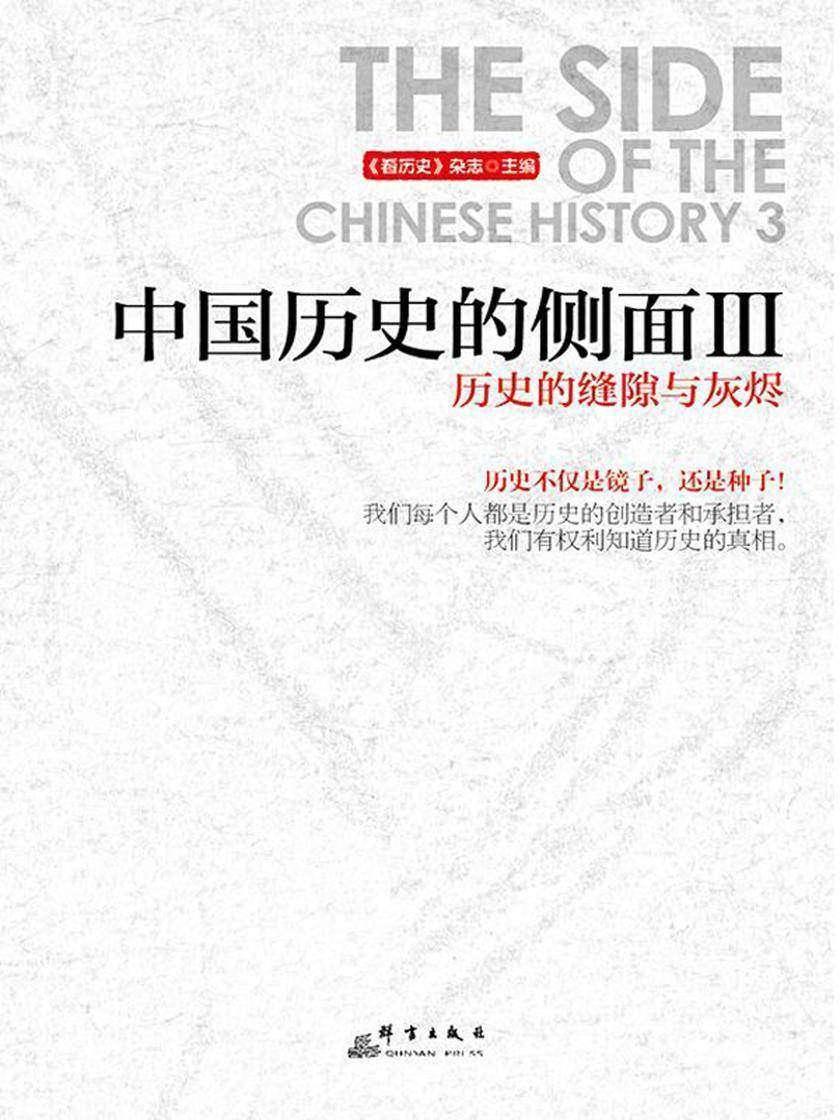 中国历史的侧面.3,历史的缝隙与灰烬