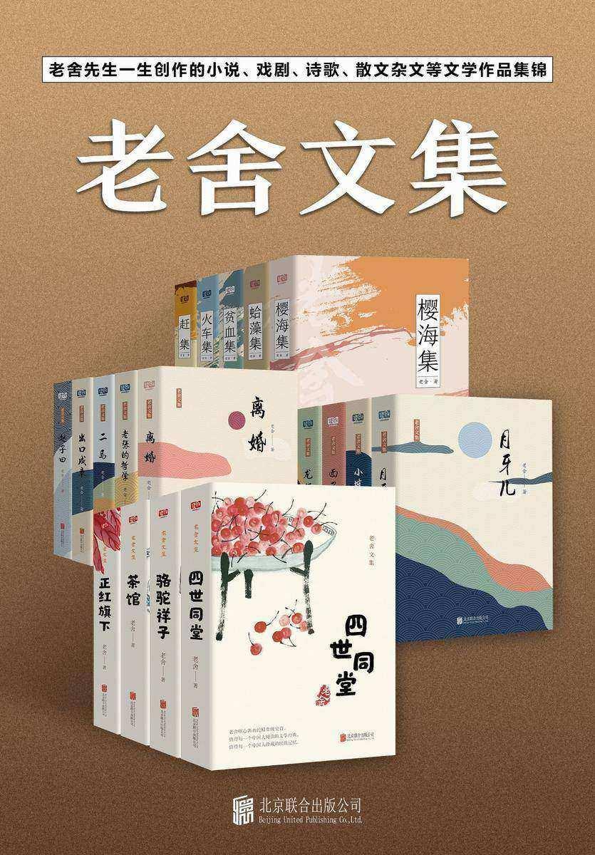 有间文库:老舍文集(套装19册)