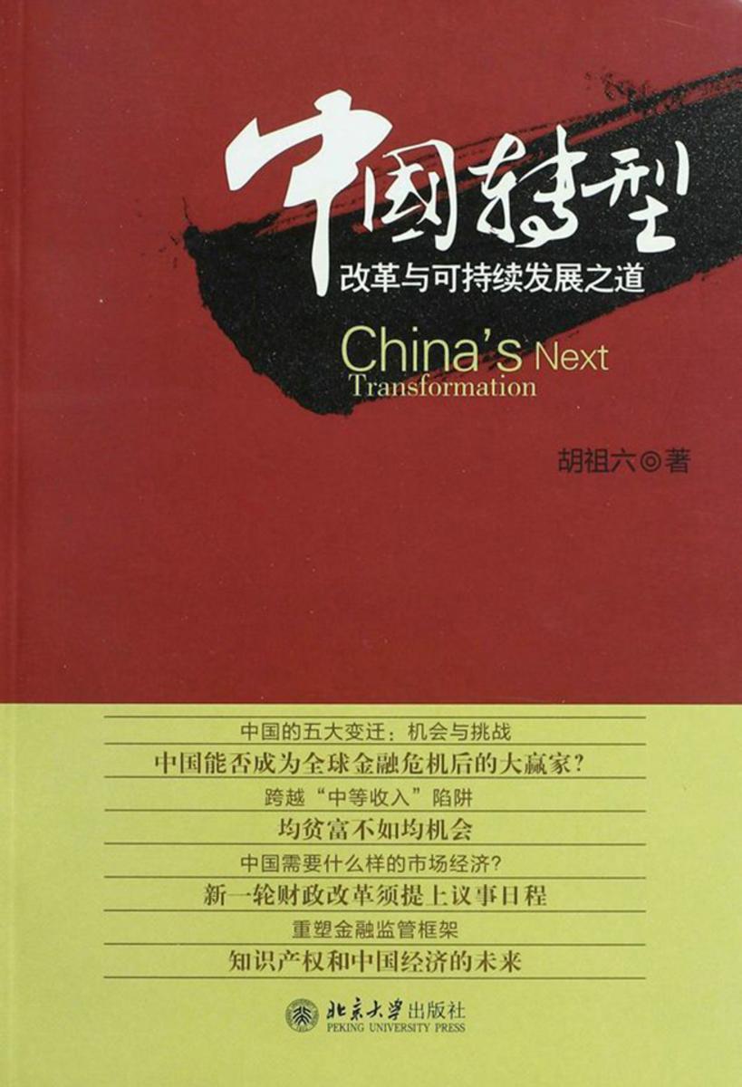 中国转型:改革与可持续发展之道