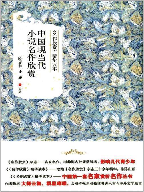 《名作欣赏》精华读本:中国现当代小说名作欣赏