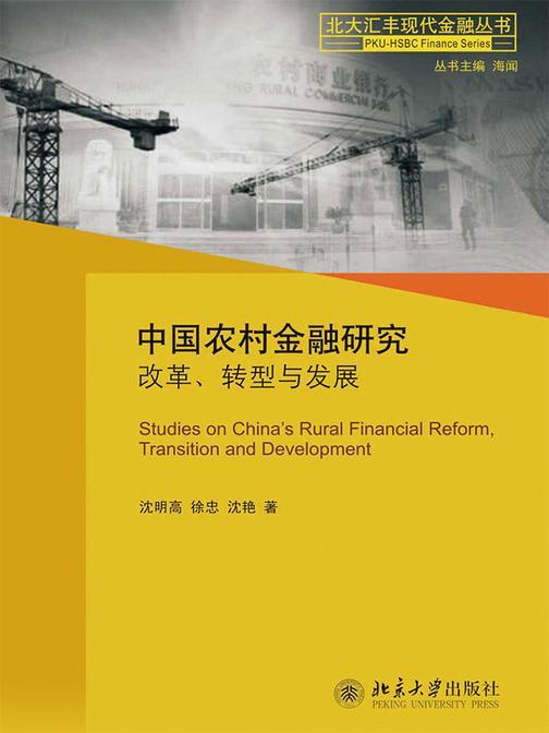 中国农村金融研究:改革、转型与发展(北大汇丰现代金融丛书)