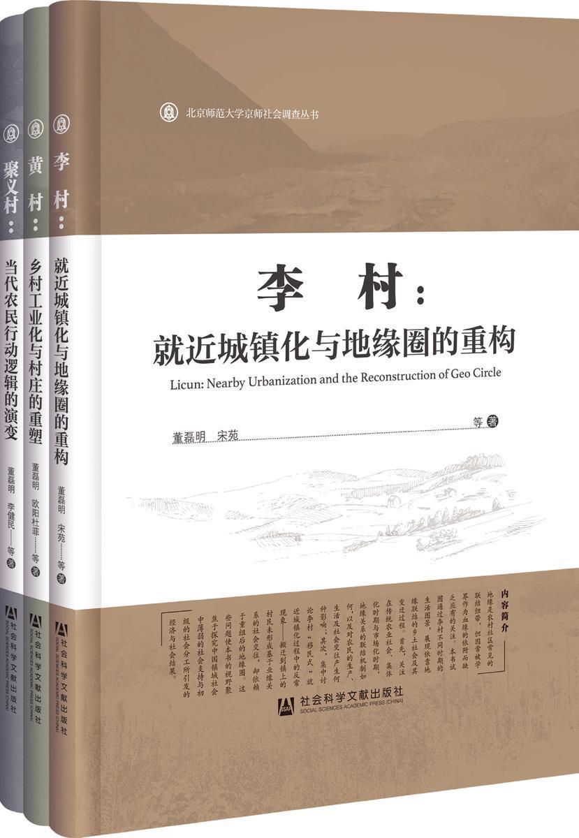 京师社会调查(全3册)