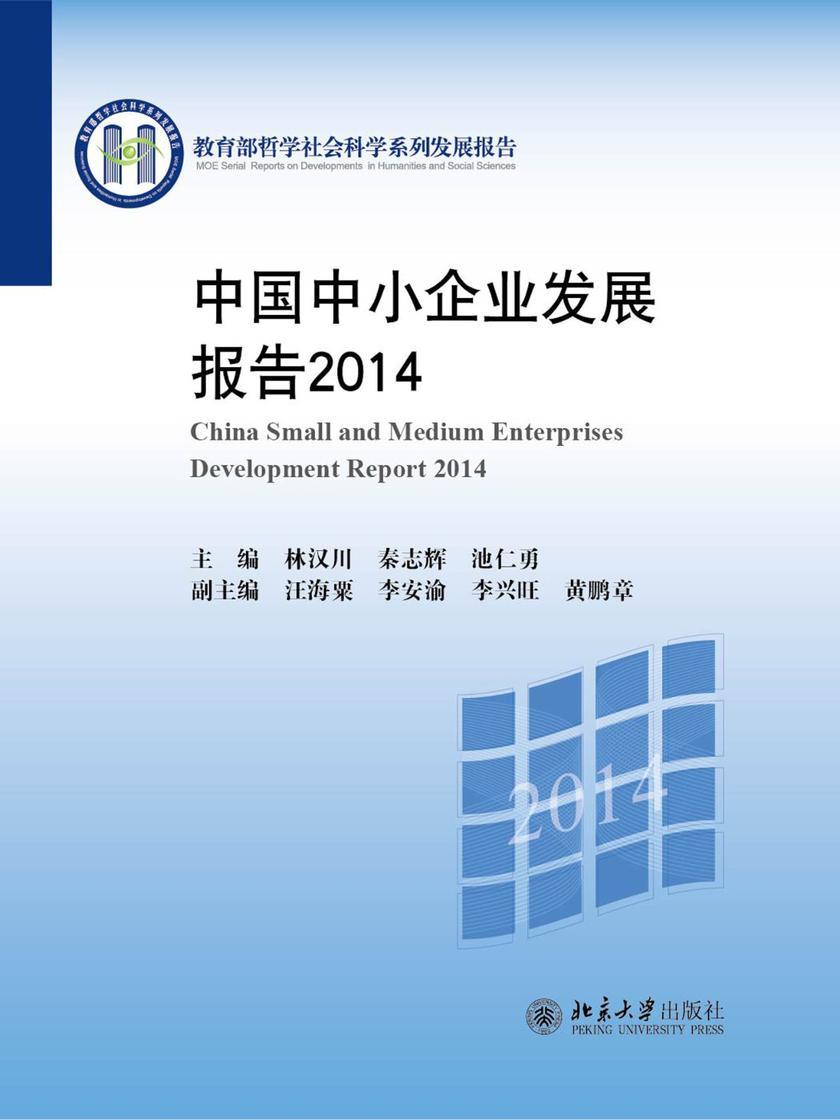 中国中小企业发展报告2014