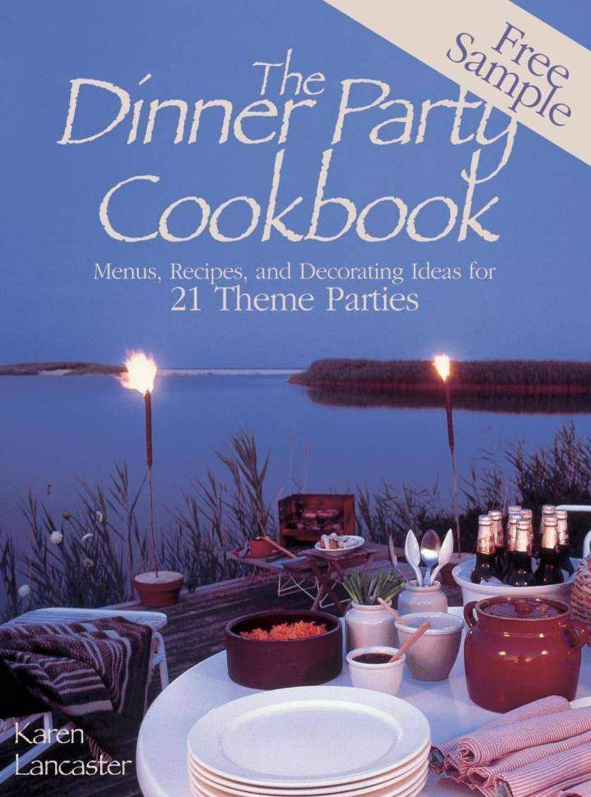 Dinner Party Cookbook—Free Sample