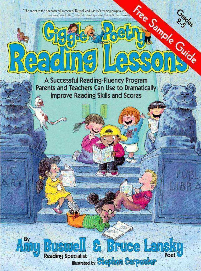 Giggle Poetry Reading Lessons Sample
