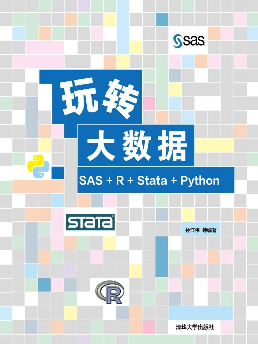 玩转大数据:SAS+R+Stata+Python