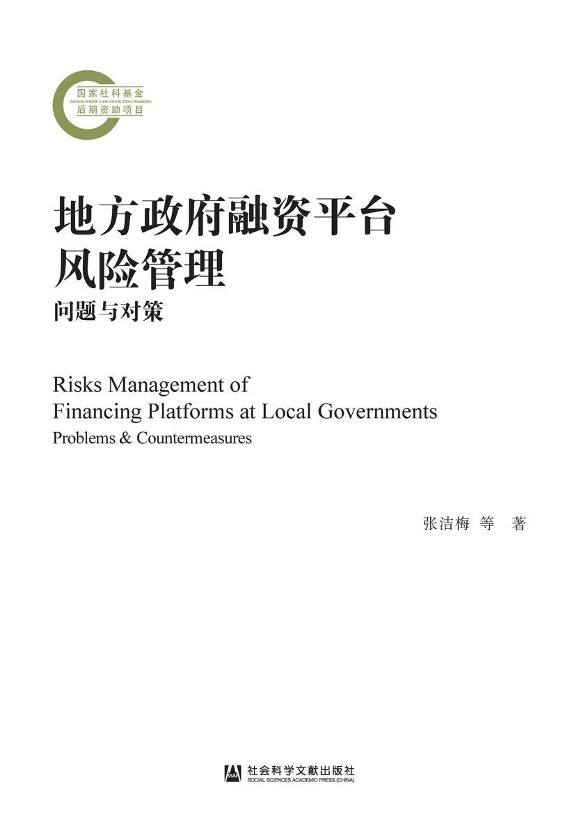 地方政府融资平台风险管理:问题与对策