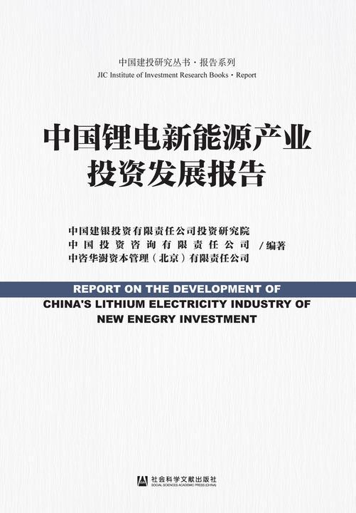 中国锂电新能源产业投资发展报告