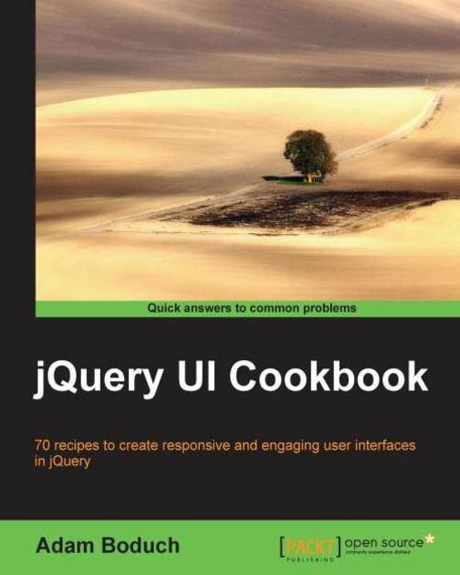 jQuery UI Cookbook