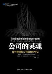公司的灵魂:如何管理你公司的身份特征(试读本)