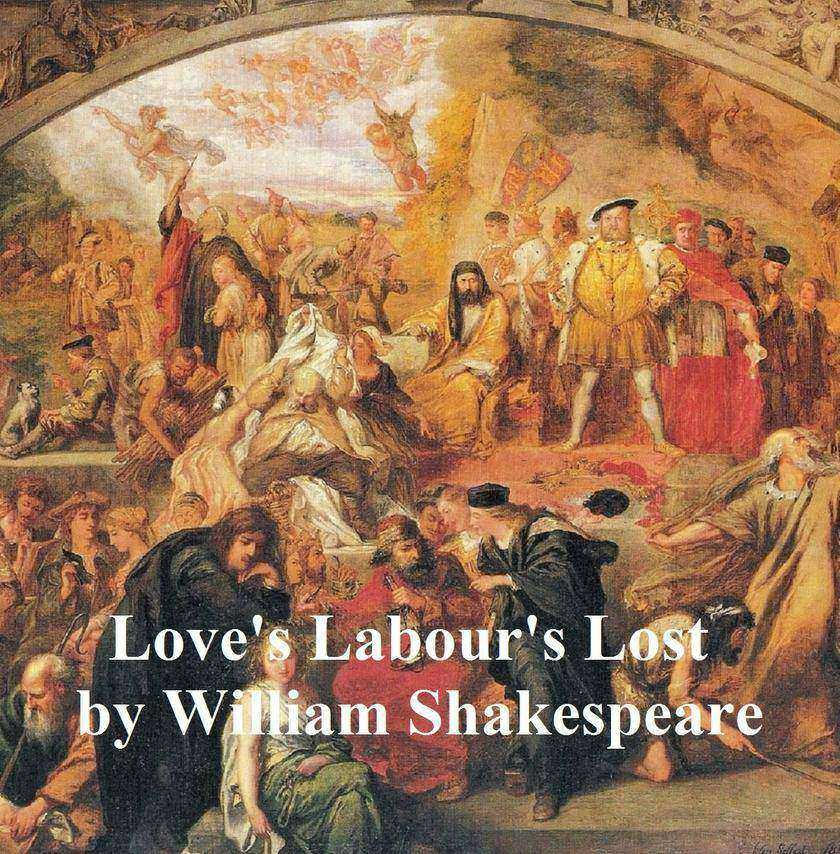 Love's Labour's Lost with line numbers