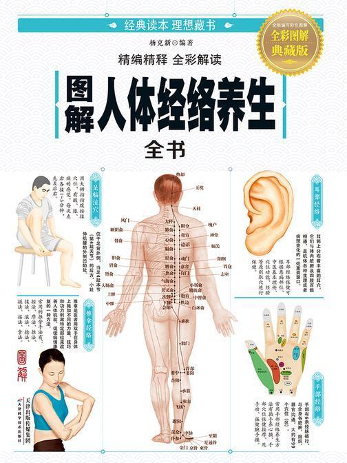 图解人体经络养生全书