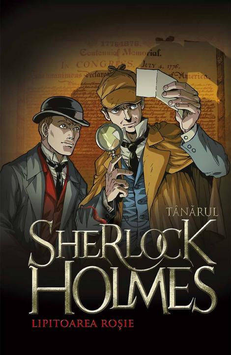 T?n?rul Sherlock Holmes. Lipitoarea ro?ie