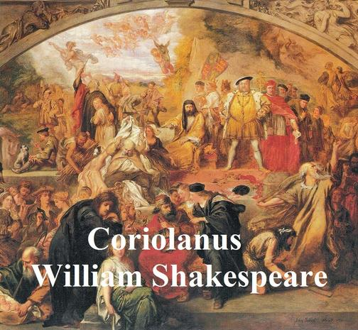 Coriolanus, with line numbers
