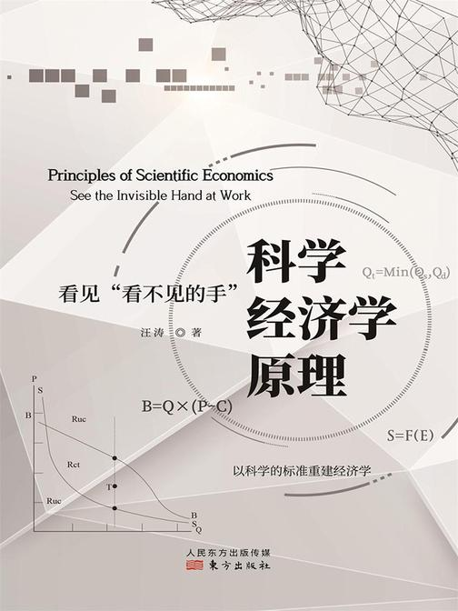 """科学经济学原理:看见""""看不见的手"""""""