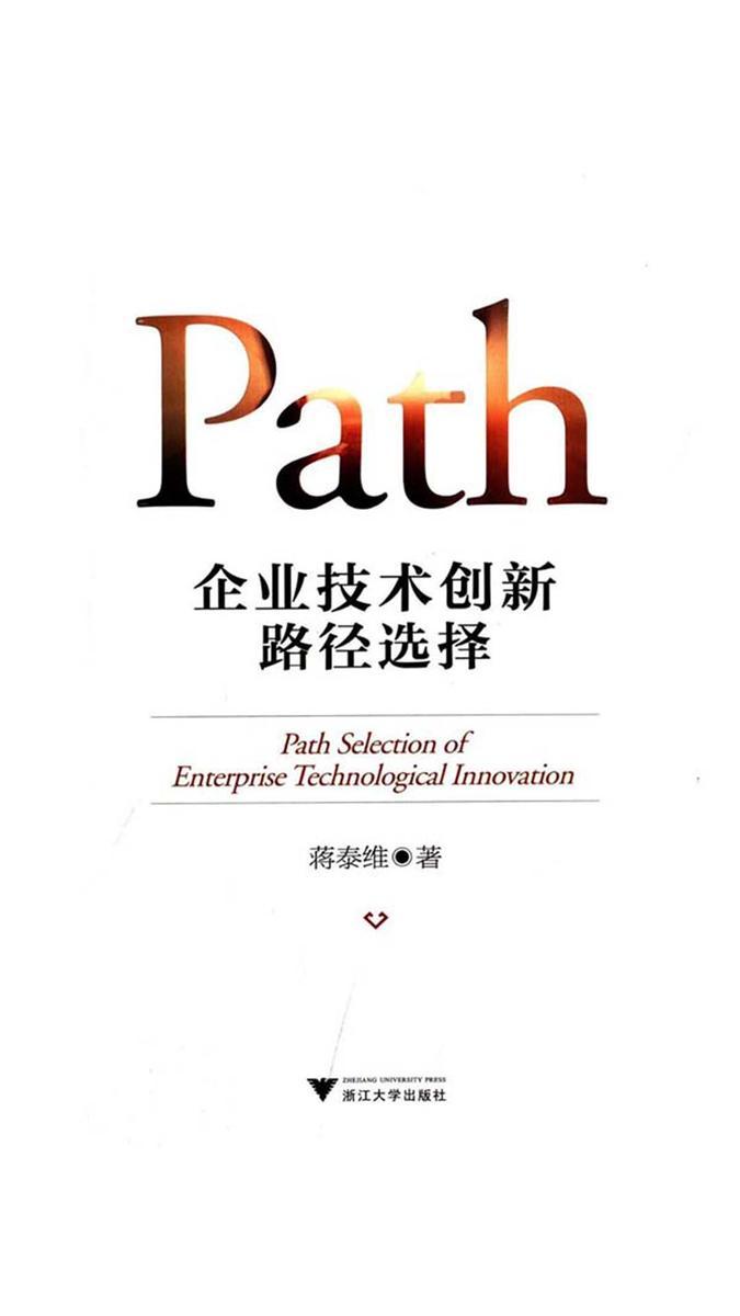 企业技术创新路径选择