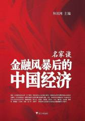 名家谈金融风暴后的中国经济(仅适用PC阅读)